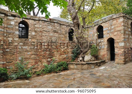 The cottage used by the Virgin Mary after the crucifixion. The cottage is finally accepted to have been the home of Virgin Mary. The site is holy to both Christians and Muslims.