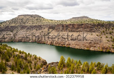 The Cove Palisades State Park - stock photo