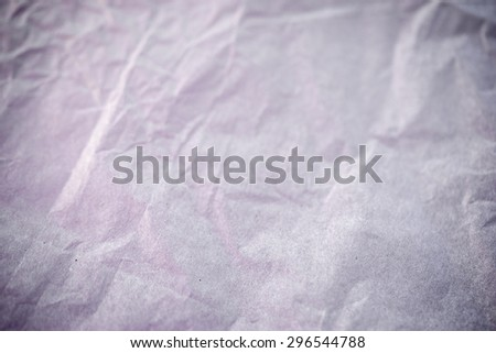 the crumpled paper background - stock photo