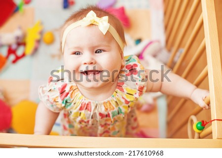 the cutest baby - stock photo