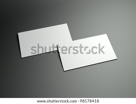 the 3d name card frame could be fit with any name card design,Is the best way to promote your company brand image. - stock photo