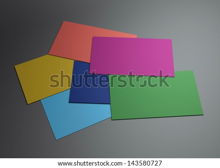 The 3d name card scene could be fit with any name card design,Is the best for promotion of company brand image.