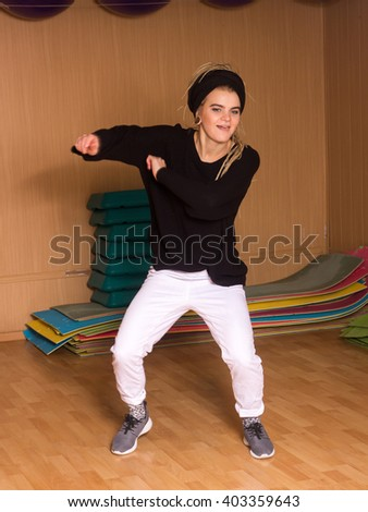 The dancer in white 