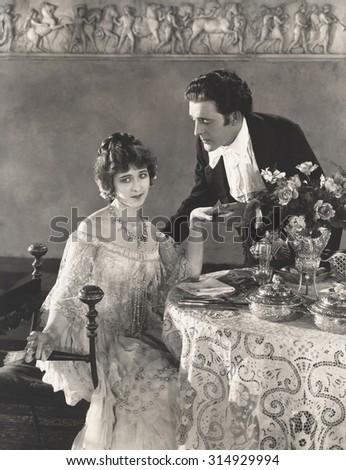 The days of chivalry - stock photo