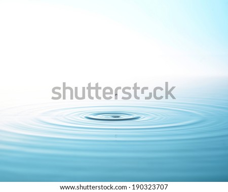 The depiction of clean water