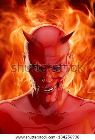 The devil - stock photo