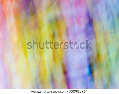 The digital blur Abstract picture. Evil demon. - stock photo