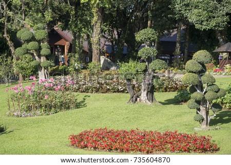 Doi Tung Royal Villa Village Doi Stock Photo (Royalty Free ...