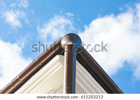 Roof Drain Pipe Stock Images Royalty Free Images