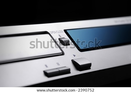 The DVD Player - stock photo
