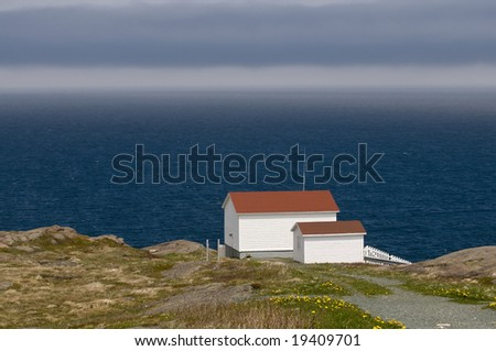 The Eastmost Cabin at Cape Spear