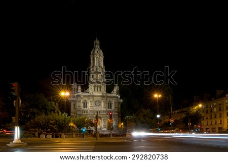 The Eglise de la Sainte-Trinite is a Roman Catholic church located in the 9th arrondissement of Paris, France. The church is a building of the Second Empire period, built between 1861 and 1867.