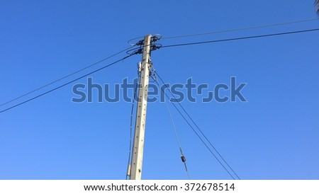 The electricity post