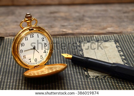 The elegance of old times - stock photo