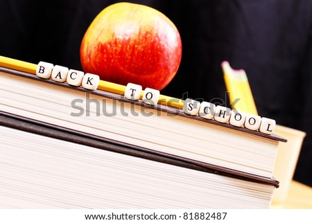 The End of Summer Break - stock photo
