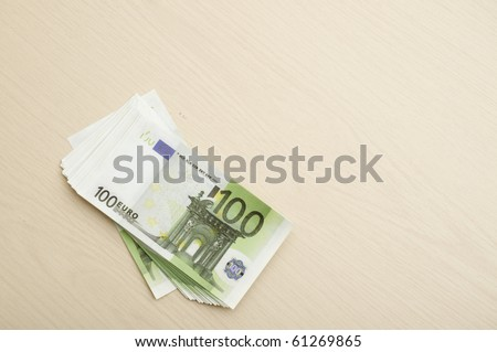 The euro is the official currency of the Eurozone - stock photo