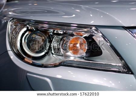 The Eye of Car - stock photo