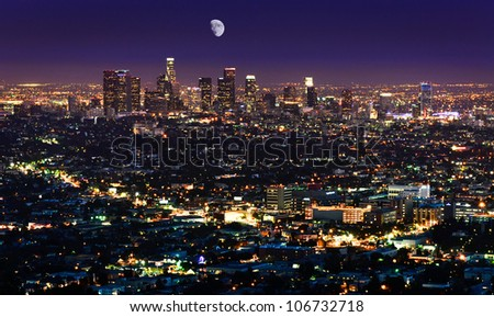 The Fabulous Los Angeles - stock photo
