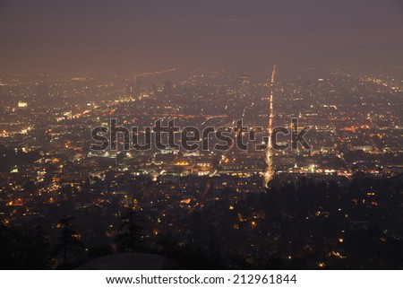 The Fabulous Los Angeles - stock photo