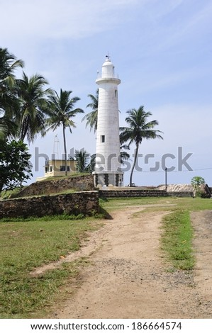 The famous light house in Galler