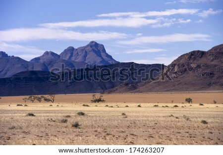the fantastic colors of the Namib Naukluft Park