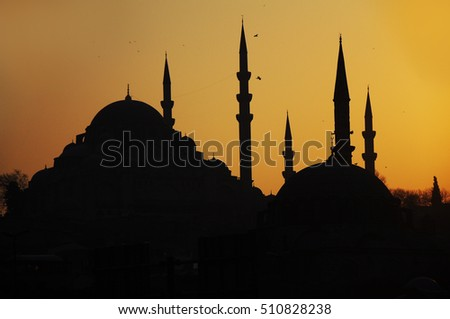 The Fatih (Conqueror's Mosque) in Istanbul, Turkey.