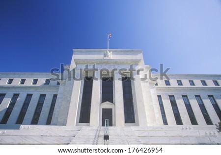 The Federal Reserve Bank, Washington, D.C. - stock photo