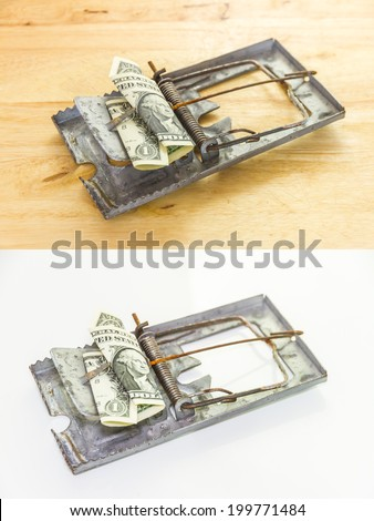 The financial object for decorate project. - stock photo