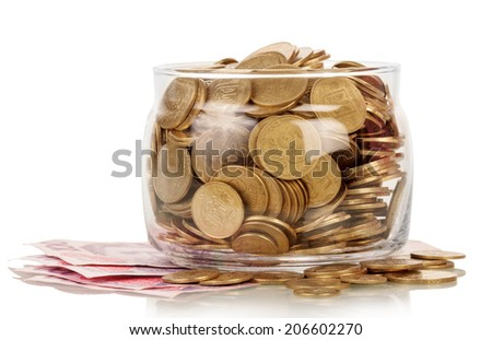 The financial reserves - stock photo