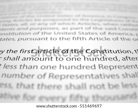 The first amendment essay