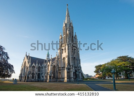The First Church of Otago, Dunedin, New Zealand