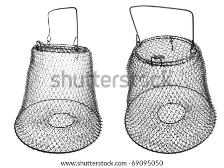 The Fish-basket. - stock photo
