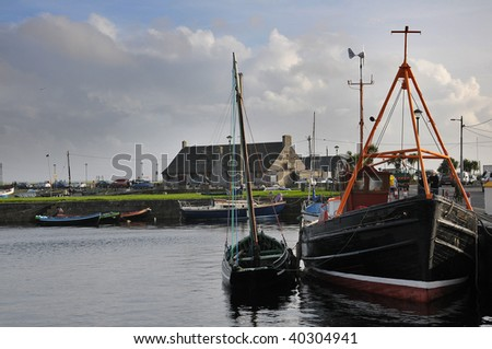 The Fishing Boat - stock photo
