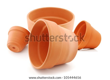 the flower pots