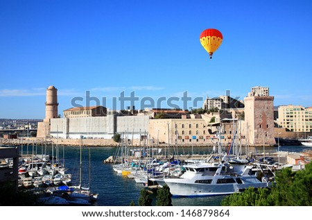 The  Fort Saint-Jean in Marseille City, France - stock photo