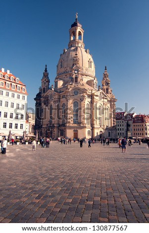 The Frauenkirche- Dresden - Germany