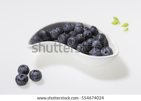The garden blackberry also called Vaccinium is derived from the American species of blueberry