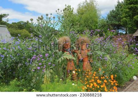 The Gardens at Rosemoor, near Torrington, Devon, England, UK - stock photo