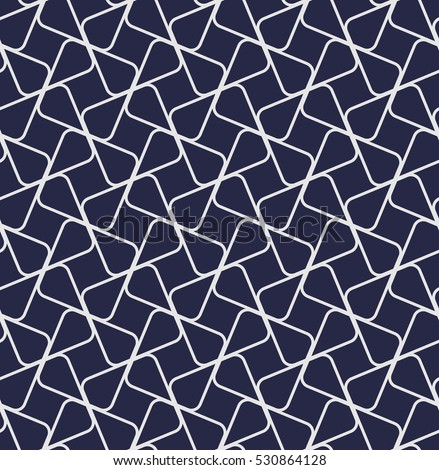 The geometric pattern by lines, stripes. Seamless  background. Dark blue texture.