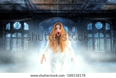 The Ghost - stock photo