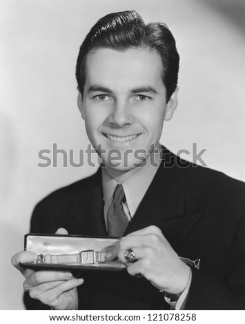 The gift of time - stock photo
