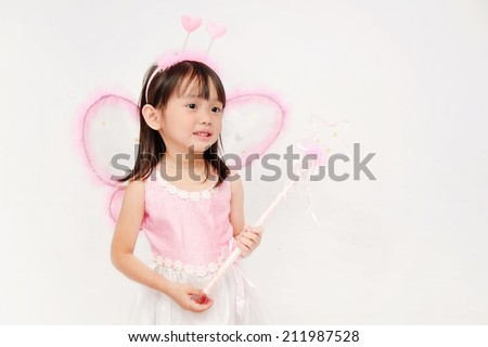 The Girl in fairy dress