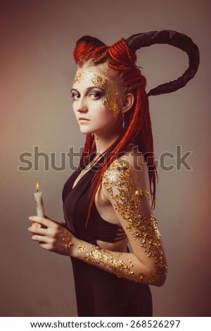 Devil Woman Stock Images Royalty Free Images Amp Vectors