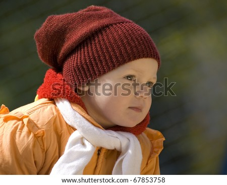 The girl of two years - stock photo