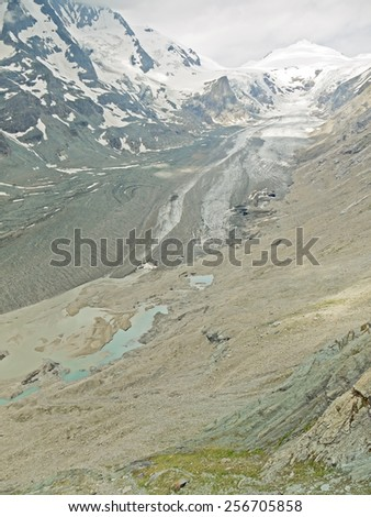 "The glacier ""Pasterze"". - stock photo"