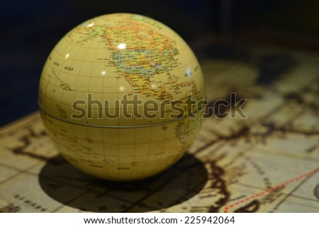 The Globe and World Map.