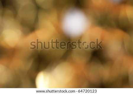 the golden abstract light background - stock photo