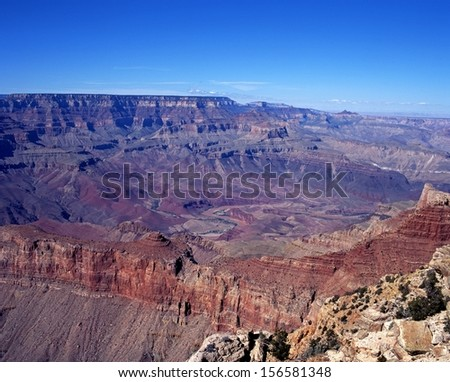 The Grand Canyon, Grand Canyon National Park, Arizona, USA.