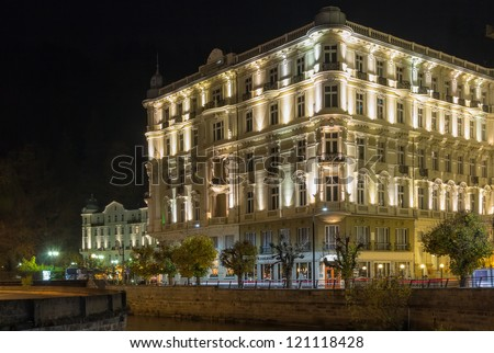 The Grandhotel Pupp is luxury hotel located in Karlovy Vary, Czech Republic.
