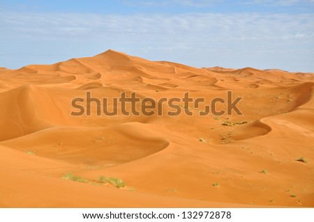 The Great Desert - stock photo